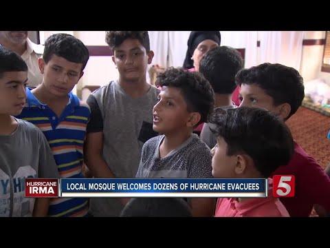Local Mosque Houses Dozens Of Hurricane Irma Evacuees