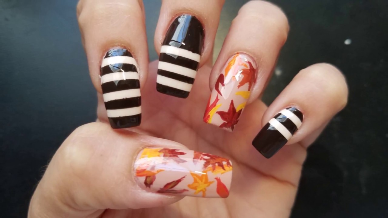 Fall Nail Design 2017 by Lizy - YouTube