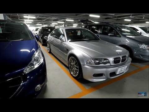 2001 BMW E46 M3 at Japan (JDM) Car Auction - YouTube