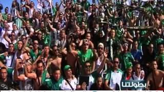 فيديو .. جمهور الرجاء يبدع ويبهر في قلب سطيف الجزائرية