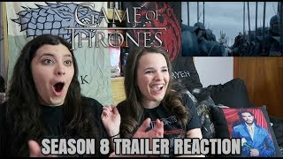 GAME OF THRONES SEASON 8 OFFICIAL TRAILER REACTION
