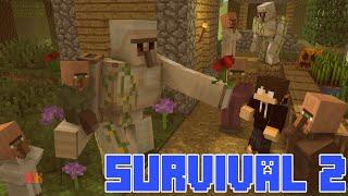 Minecraft PE: Survival 2 #10 Fazendo o Golem de Ferro !