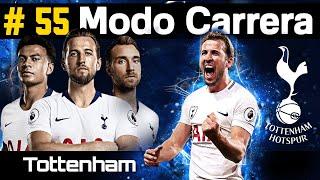 Tottenham Spurs vs Manchester United - CAP 55 - MODO CARRERA - Fifa 19 (Champions League) 2/2