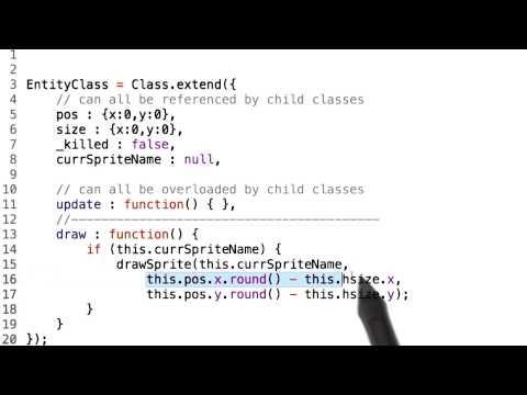 Entity Render Class - HTML5 Game Development