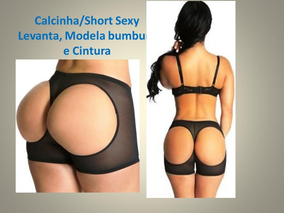 b85edc6e2 Calcinha Short Sexy Levanta