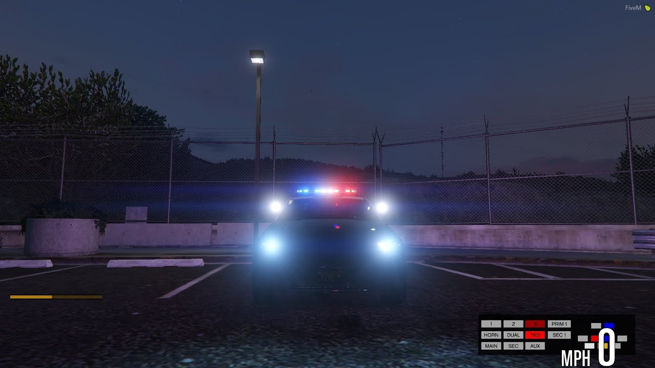 HOW TO MAKE YOUR LIGHTS /ELS BRIGHTER IN GTA5/FIVEM by OFFICER 125 GAMING