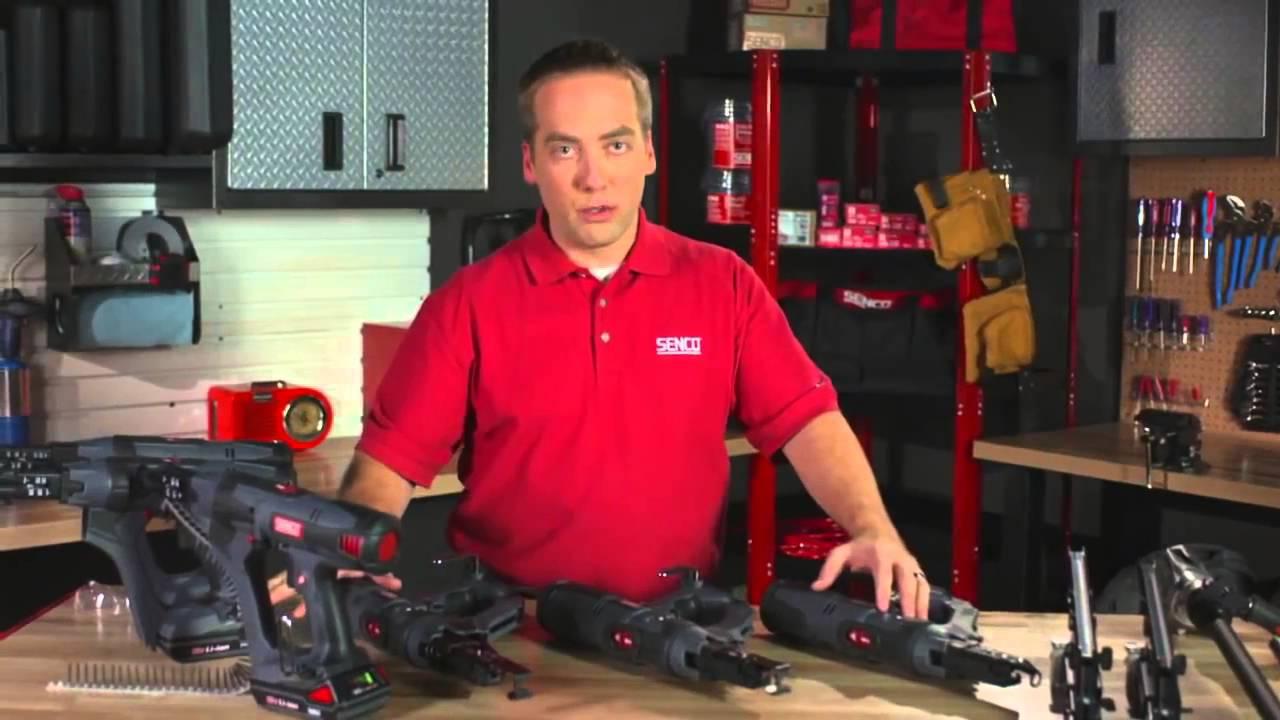 Senco Screw Gun DuraSpin Features & Benefits