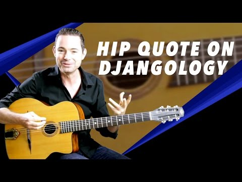 The 'I Love You Baby' Quote on Djangology - Gypsy Jazz Guitar Secrets
