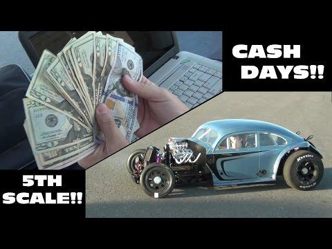 RGV 5th SCALE DRAG RACING - Cash Days!!!!
