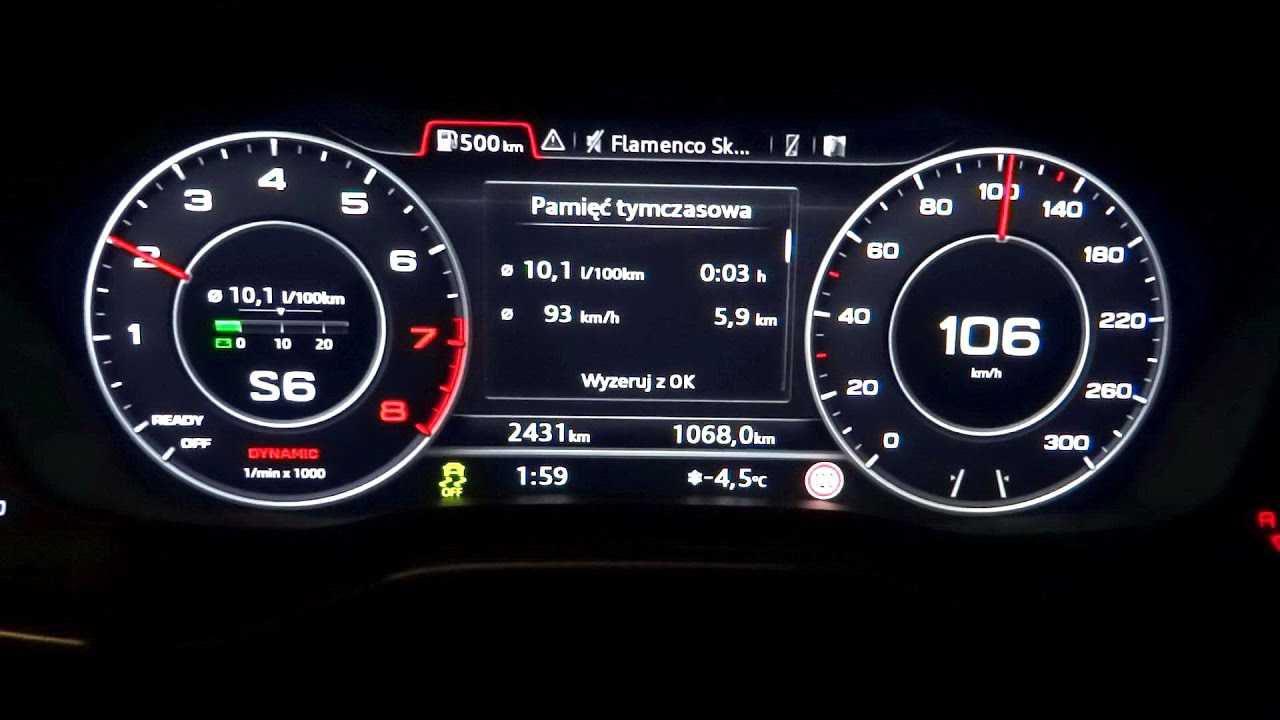 2016 AUDI A4 B9 2 0 TFSI 252HP QUATTRO Acceleration Test 0 100 km