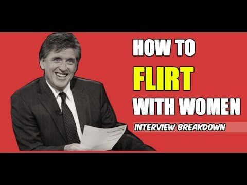 How to Flirt With Women Like Craig Ferguson | The Art of Seduction | Alpha Male Breakdown
