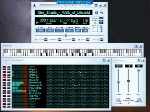 Vanbasco's Karaoke Player Midi Sequencer