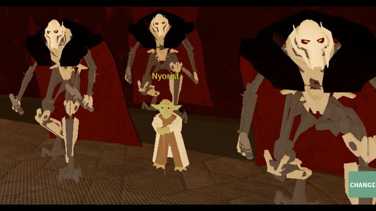 Roblox Life As General Grievous Custom Character Lightsaber
