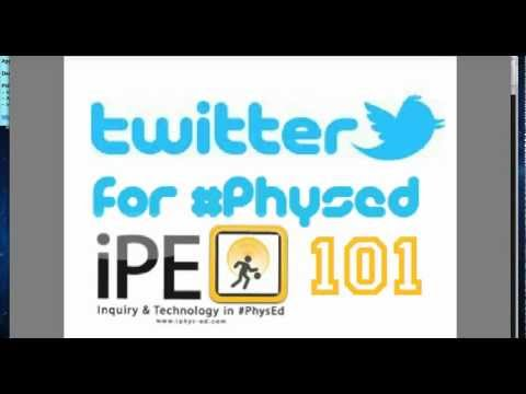 Twitter for #PhysEd 101 - Using Tweetdeck