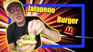 Mcdonalds Jalapeno Chicken Burger Taste Test And Drive-thru Review