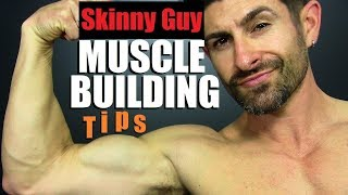 10 BEST Muscle Building Tips For SKINNY GUYS!