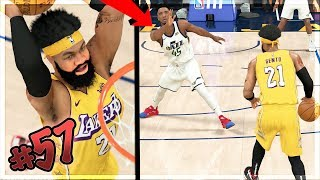 1st GAME AFTER SCORING 100 on Hall of FAME! SNAPPED DONOVAN MITCHELL ANKLES! NBA 2k20 MyCAREER Ep 57