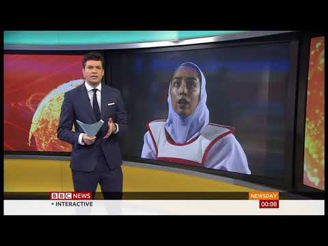 Kimia Alizadeh (Olympic medalist) defects from Iran - BBC News - 13th January 2020