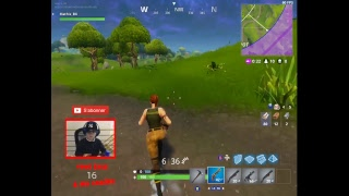 Mathis BX live broadcast on FORTNITE Saving the World and Royal Battle