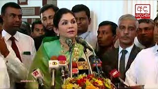 Colombo's first female Mayor Rosy Senanayake assumes duties