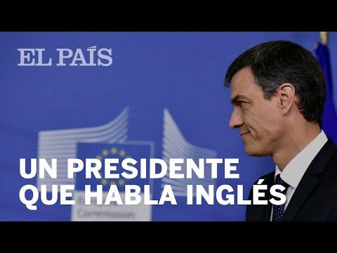 Así habla PEDRO SÁNCHEZ en INGLÉS