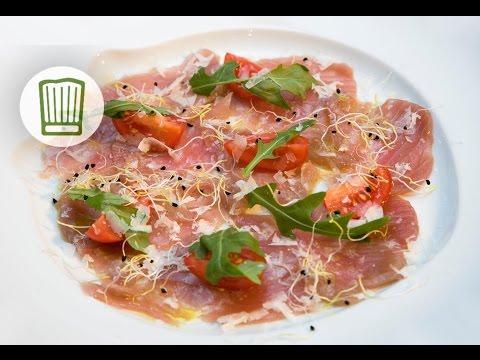 Thunfisch-Carpaccio #chefkoch