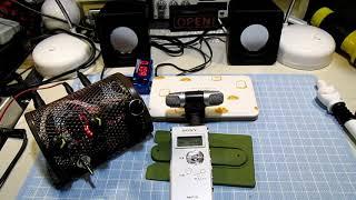 改造前にちょっと鳴らしてみました。ダイソー300円USBスピーカー(ノーマル)+NE5532プリアンプ