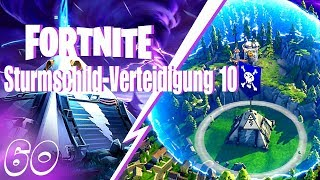 FORTNITE ⚡ Rette die Welt - Sturmschild-Verteidigung 10 Solo◄#60►Let's Play/Deutsch/German/HD