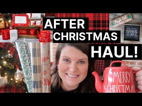 2019-christmas-clearance-haul!-|-target,-hobby-lobby,-marshalls,-home-goods-+-rae-dunn!