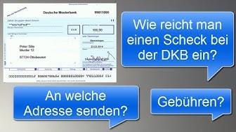 Verrechnungsscheck: So wird er bei der DKB eingelöst