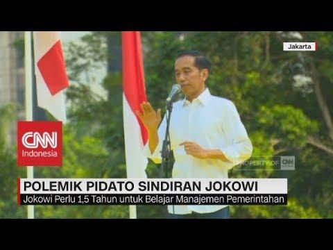 Polemik Pidato Sindiran Jokowi Mp3