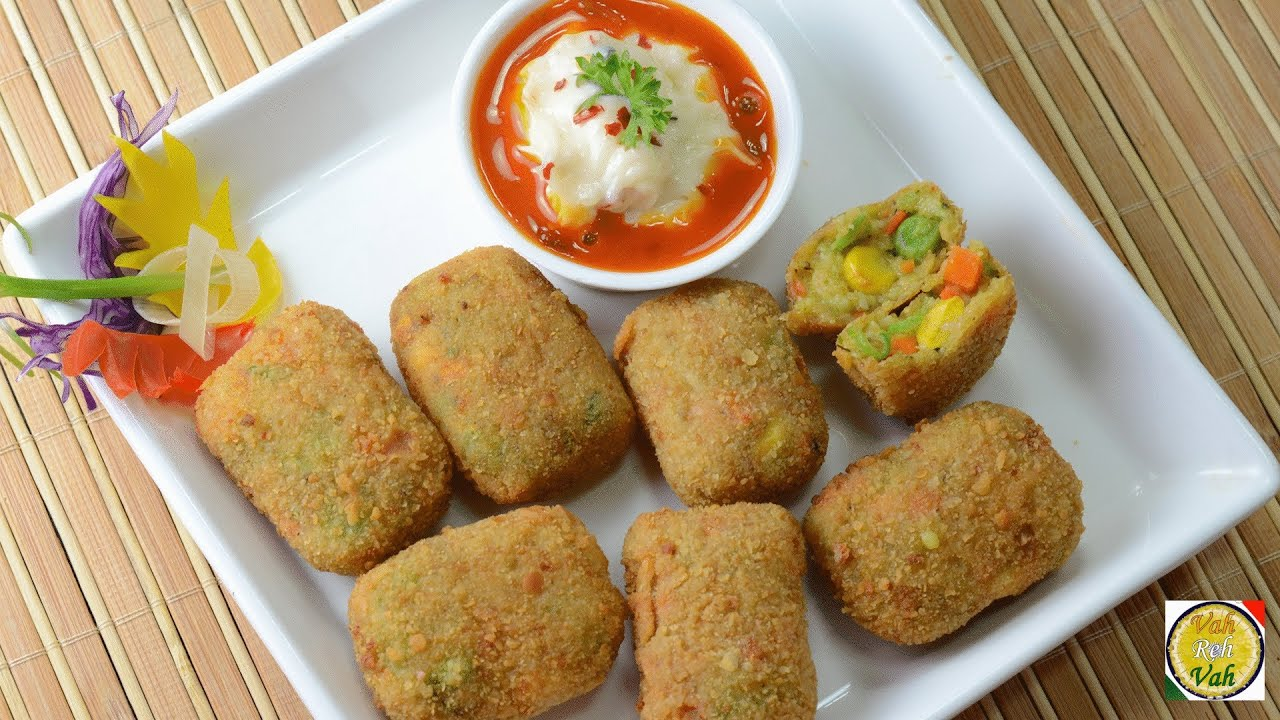 Crunchy vegetable nuggets by vahchef vahrehvah youtube forumfinder