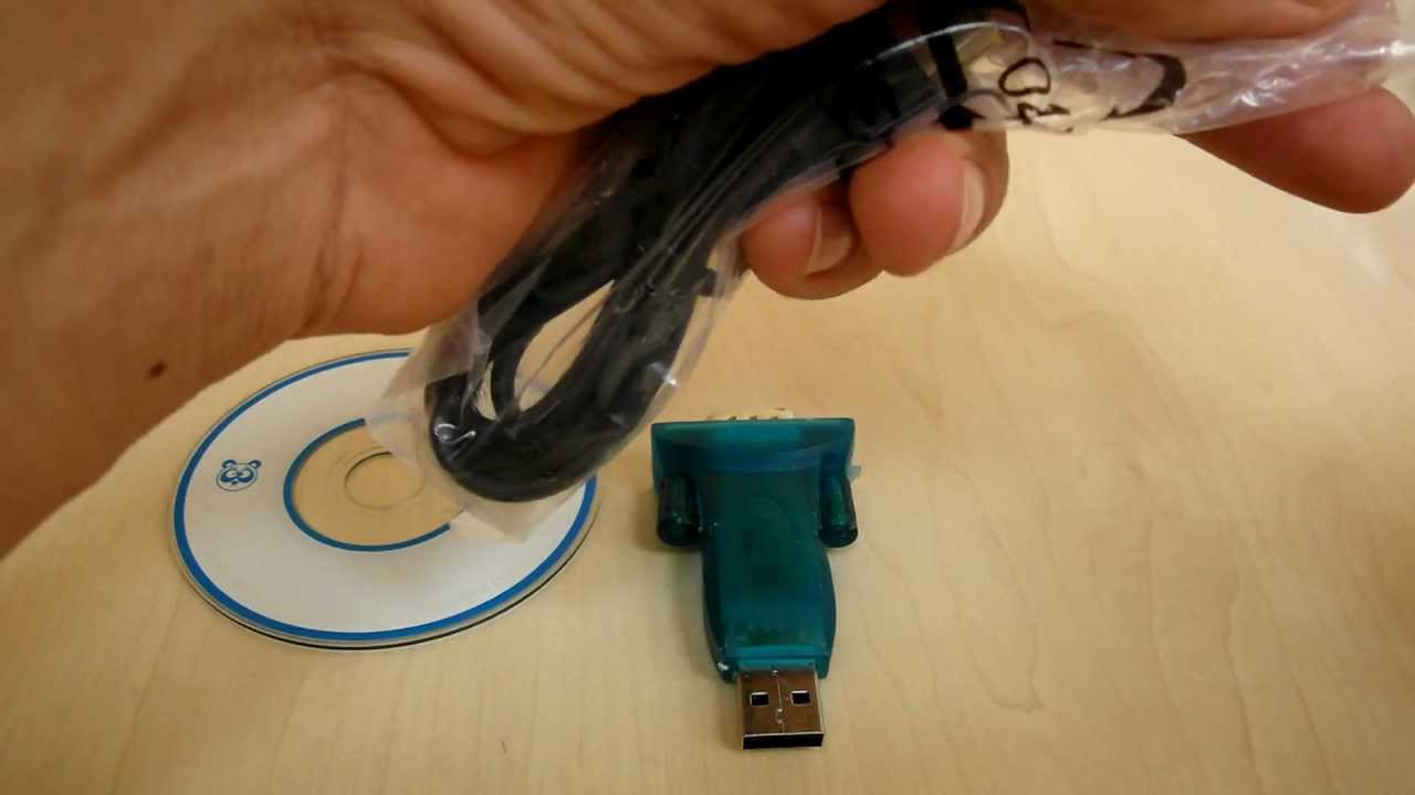 Dealextreme usb to rs232 serial port adapter youtube publicscrutiny Image collections
