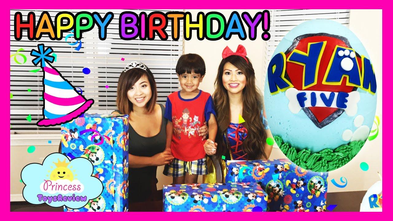 Birthday Party Paw Patrol Cake With Toy Surprise Inside Cake Smash