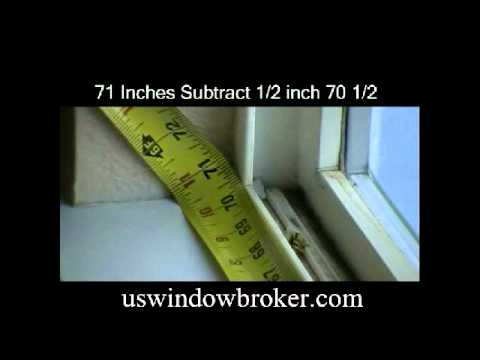 How To Measure For New Windows
