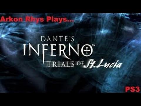 Arkon Rhys Plays.Dantes Inferno: Trials Of St Lucia DLC PS3