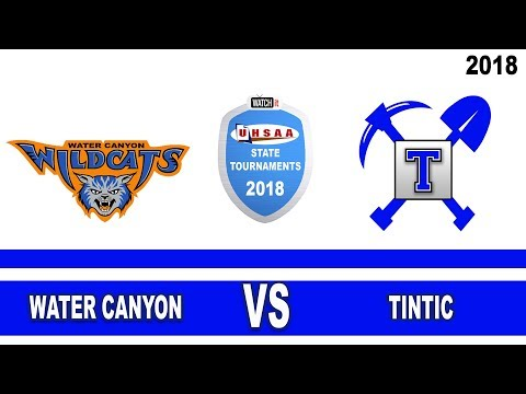 1A Boys Basketball: Water Canyon vs Tintic High School UHSAA 2018 State Tournament Round 1