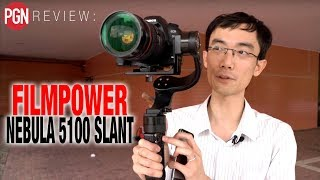 REVIEW: Filmpower Nebula 5100 Slant -  a 3-axis DSLR Gimbal with a 45 degree twist