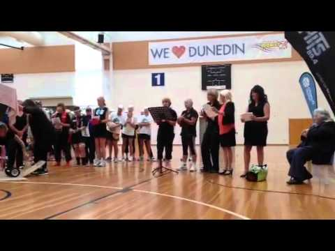 Tribute to Alison Shanks, Sporting Hero at Dunedin 2016 Masters Games