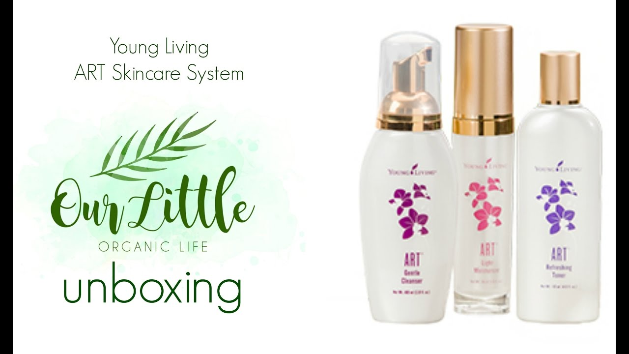 Art Line Young Living : Young living art skincare system unboxing youtube