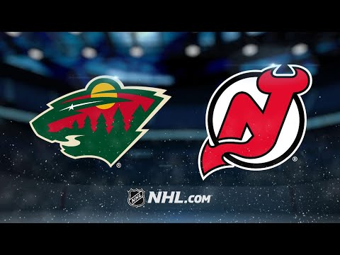 Stalock, Wild double up Devils, 4-2