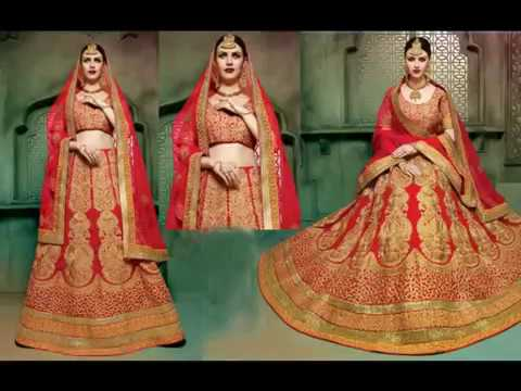 image of Wedding Lehenga Sarees youtube video 1
