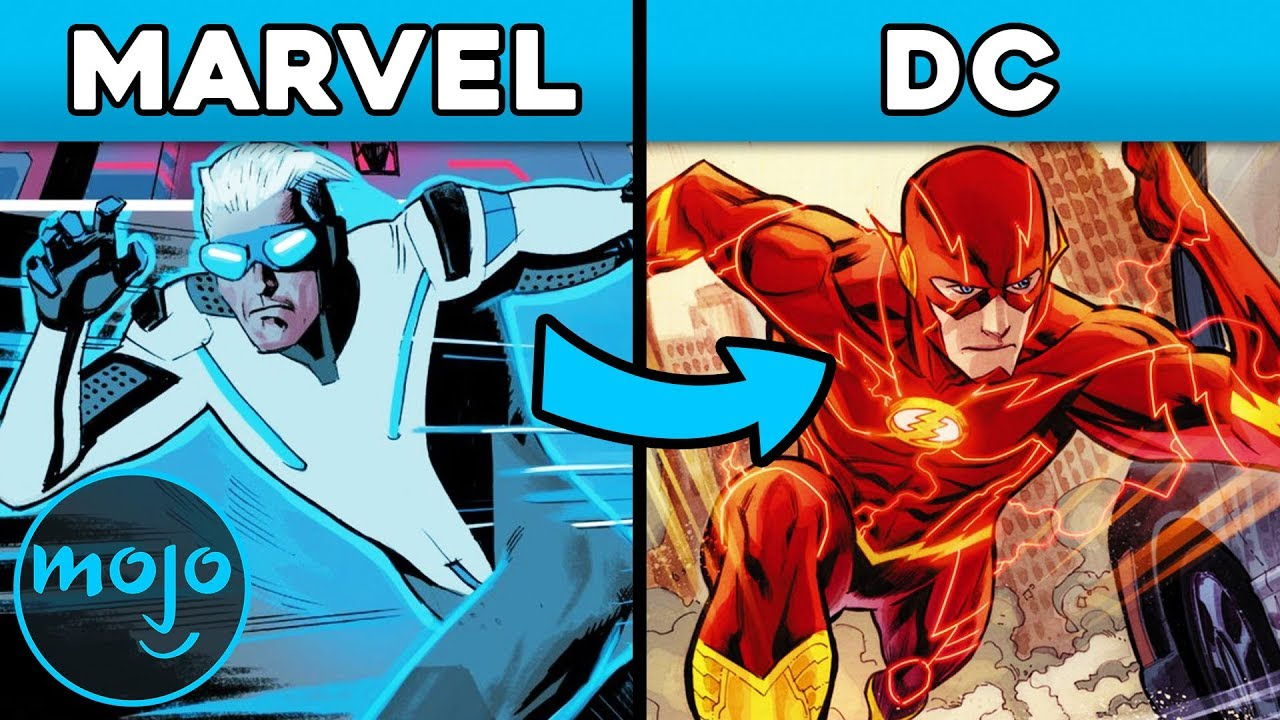 Top 10 Characters Marvel Stole from DC #1