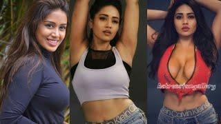 Nivetha Pethuraj hot photoshoot video   Desi chocolate assets on show
