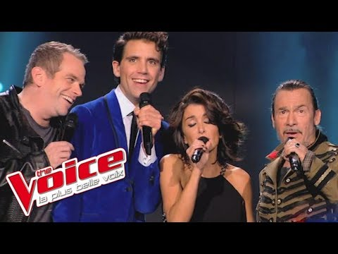 Queen – Bohemian Rhapsody | Garou, Mika, Jenifer et Florent Pagny | The Voice 2014│Blind Audition