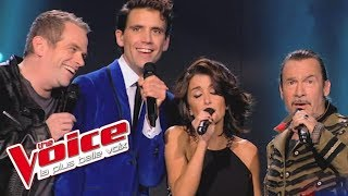 Queen - Bohemian Rhapsody | Garou, Mika, Jenifer et Florent Pagny | The Voice 2014│Blind Audition