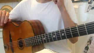 World Of Its Own (Tingsek) – Guitar lesson