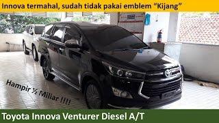 Toyota Innova Venturer Diesel A/T review - Indonesia