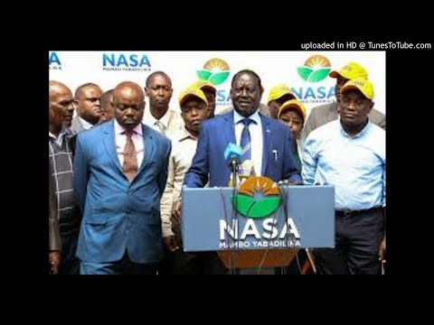 Raila accuses Jubilee of blatant violation of the Constitution