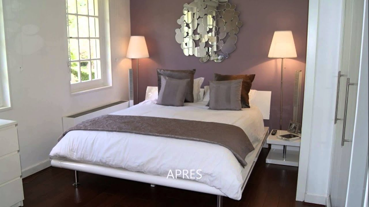 Home Staging Chambre Adulte video avant apres